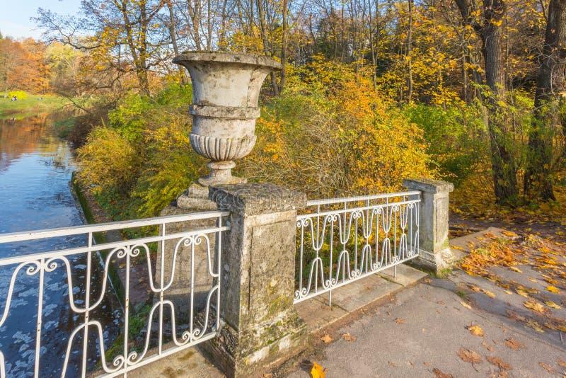 Den ljusa hösten landskap royaltyfri fotografi