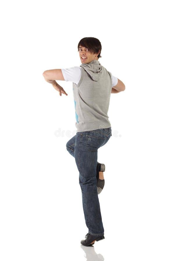 den male dansare single kopplingen arkivfoton