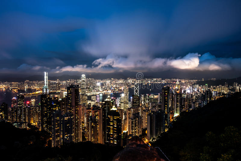Den maximala Hong Kong royaltyfri bild