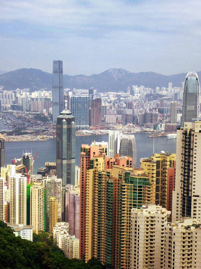 Den maximala Hong Kong sikten arkivfoton