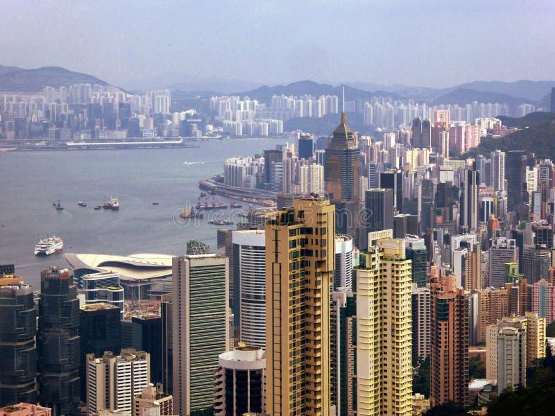 Den maximala Hong Kong sikten fotografering för bildbyråer