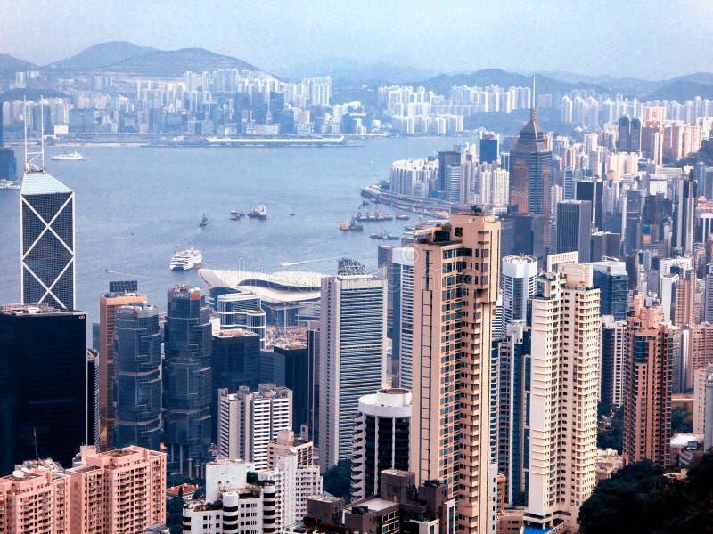 Den maximala Hong Kong sikten arkivbilder