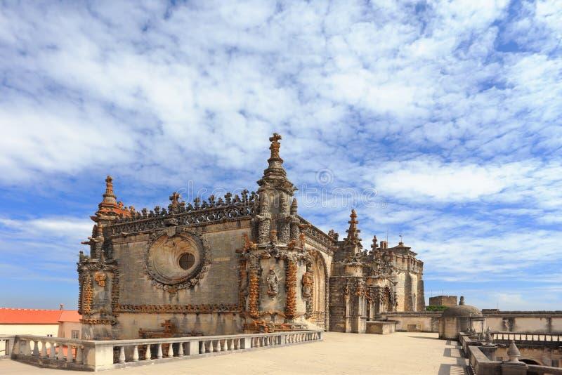 Den medeltida arkitekturen. Portugal royaltyfri foto