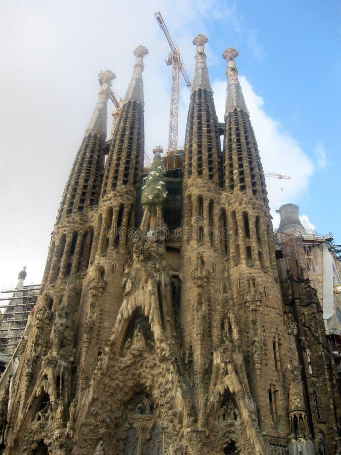 Den mest berömda och största kyrkliga domkyrkan arkivbild