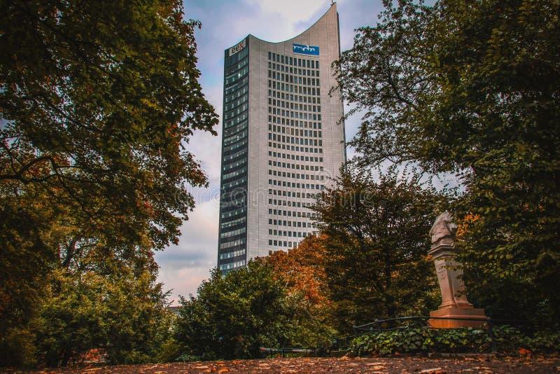 Den mest härliga staden i Östtyskland arkivfoton