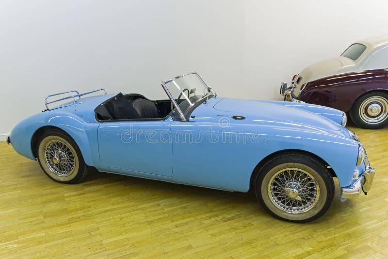 Den MG MK II bilen 1600 gjorde i 1962 royaltyfria bilder