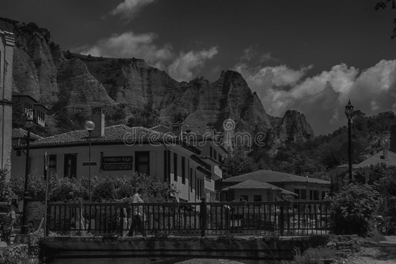 Den minsta staden i Bulgarien royaltyfria bilder