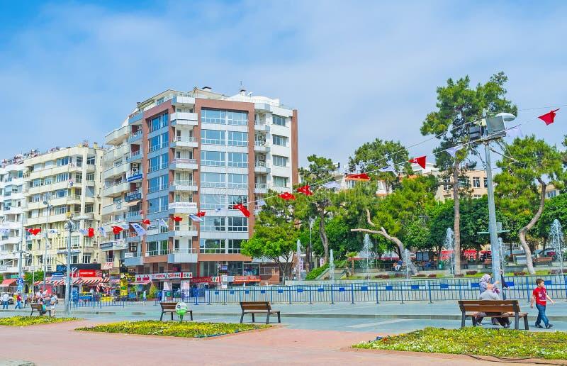 Den moderna Antalyaen arkivbild