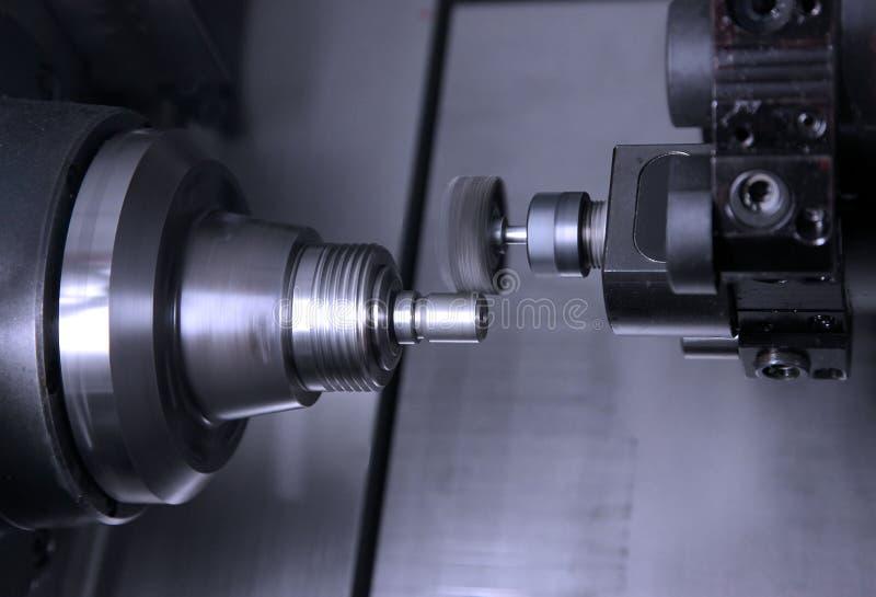 Den moderna behandlande maskinen arkivbild