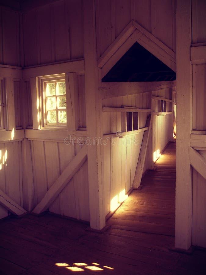 Den mystiska korridoren royaltyfria foton