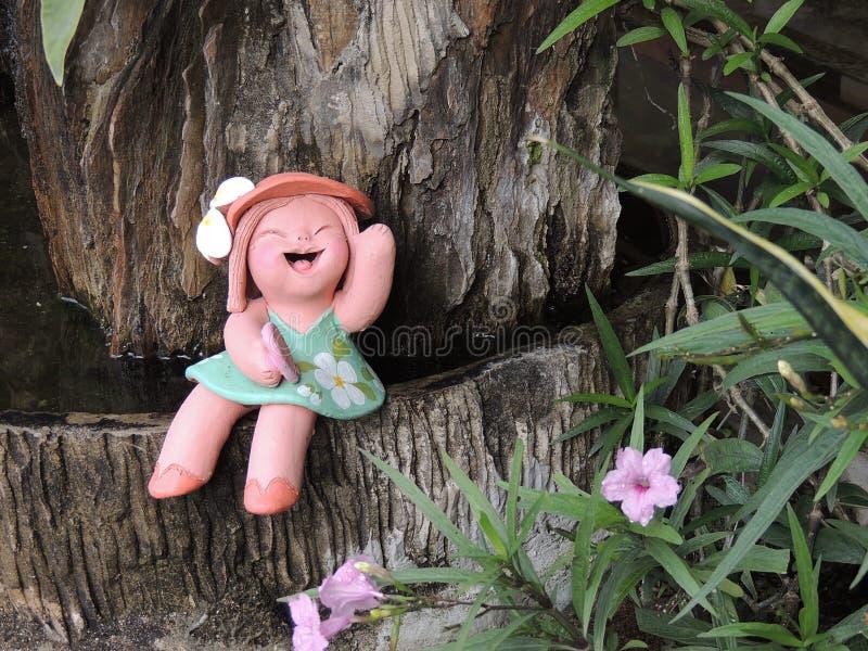 Den nätta le dockan royaltyfri bild