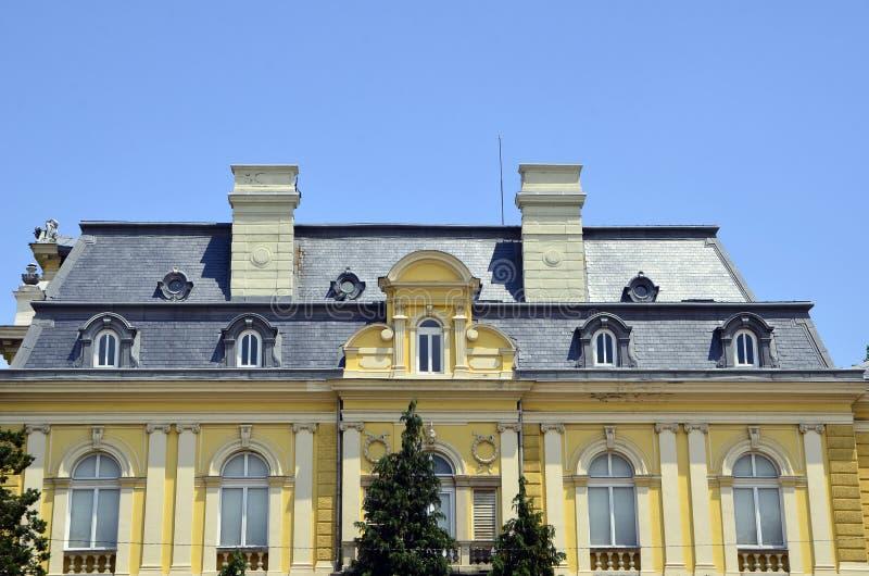 Den nationella Art Gallery i Sofia, royaltyfria bilder