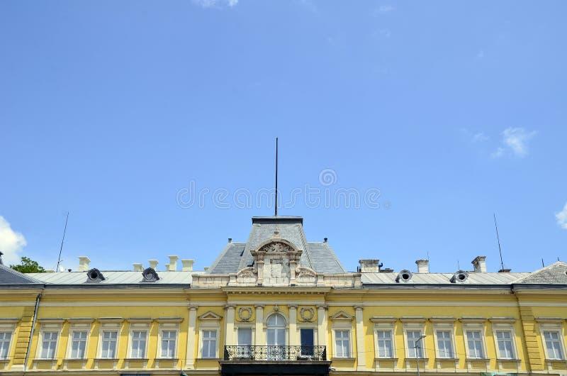 Den nationella Art Gallery i Sofia royaltyfria bilder