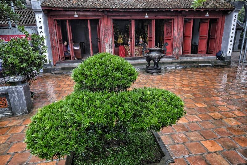 Den Ngoc son temple, Hoan Kiem Lake, Hanoi. royalty free stock photo