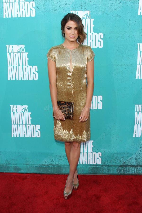 Den Nikki vassen på MTV filmen 2012 tilldelar ankomster, den Gibson amphitheateren, universalstaden, CA 06-03-12 arkivbild