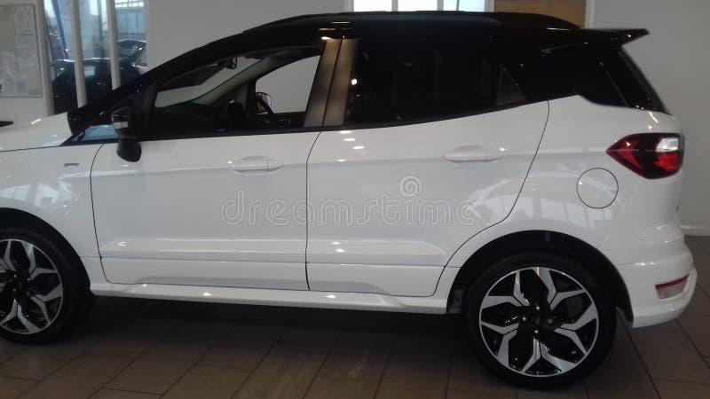 Den nya Ford ecosporten royaltyfria foton