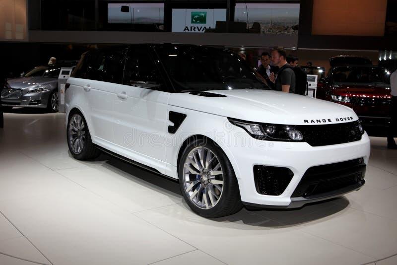 Den nya Land Rover arkivfoton