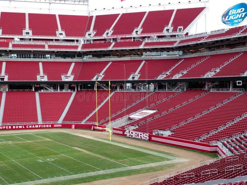 Den nya Levi's stadion Santa Clara California royaltyfria bilder