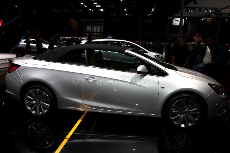 Den nya Opel Cascada arkivfoto