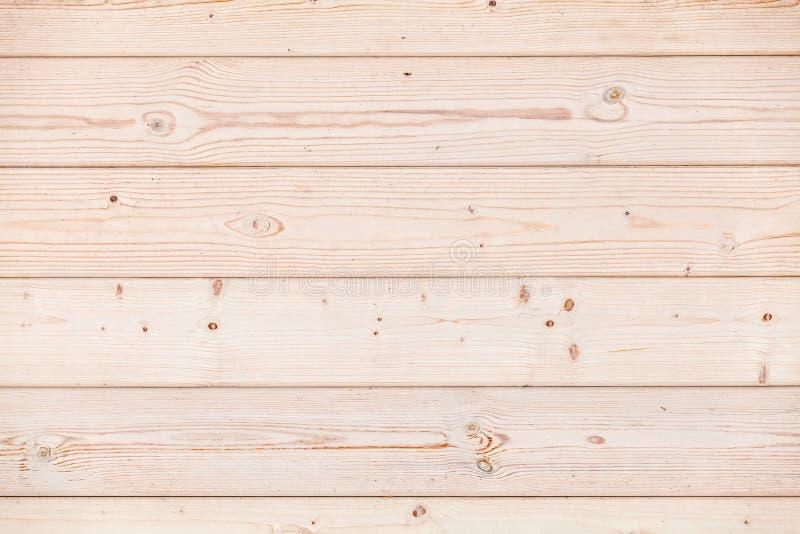 Den nya träväggen som göras av, sörjer träplankor, textur royaltyfri foto