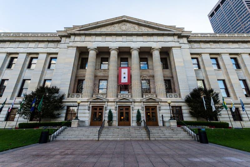 Den Ohio statehousen i Columbus, Ohio royaltyfri foto