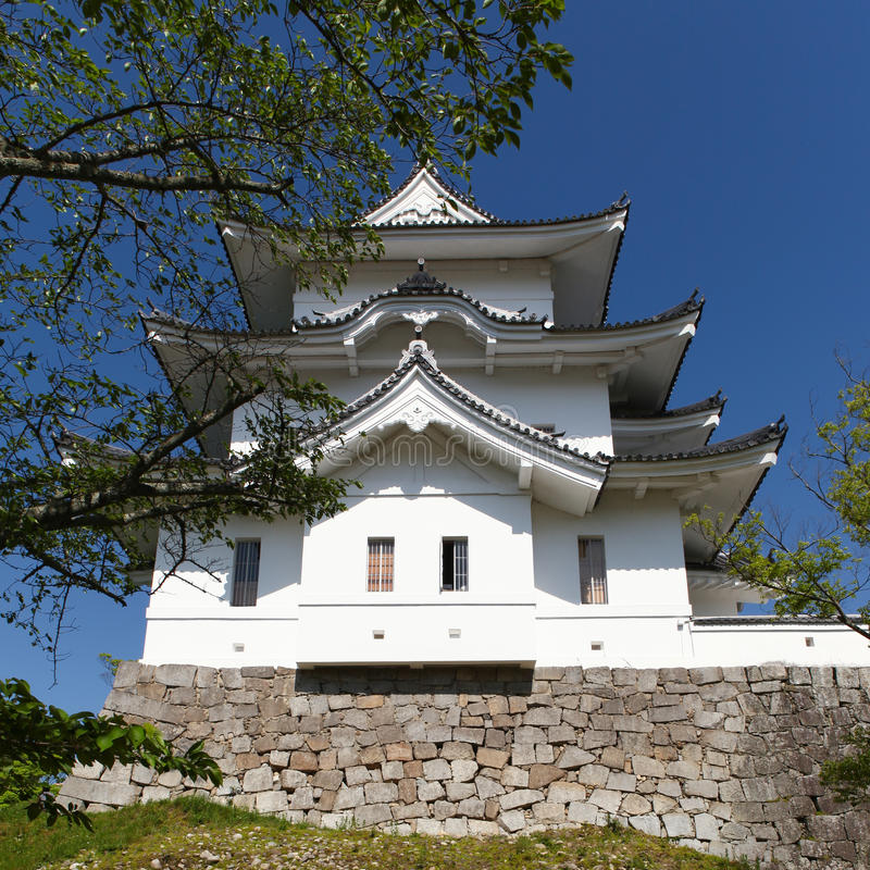 Den original- Ninja slotten av Iga Ueno arkivfoto