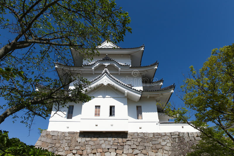 Den original- Ninja slotten av Iga Ueno arkivfoton