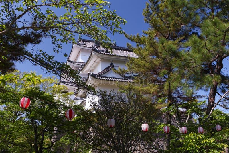 Den original- Ninja slotten av Iga Ueno royaltyfri fotografi
