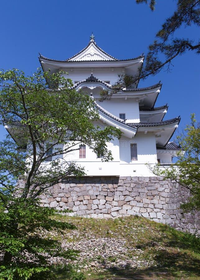 Den original- Ninja slotten av Iga Ueno arkivbilder