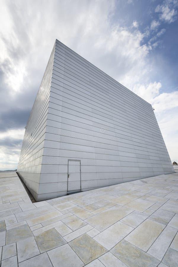 Den Oslo operahuset, Norge fotografering för bildbyråer