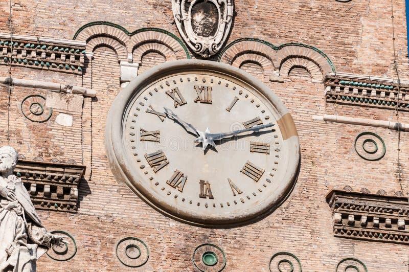 Den påvliga basilikan av helgonet Mary Major i Rome, Italien arkivfoton