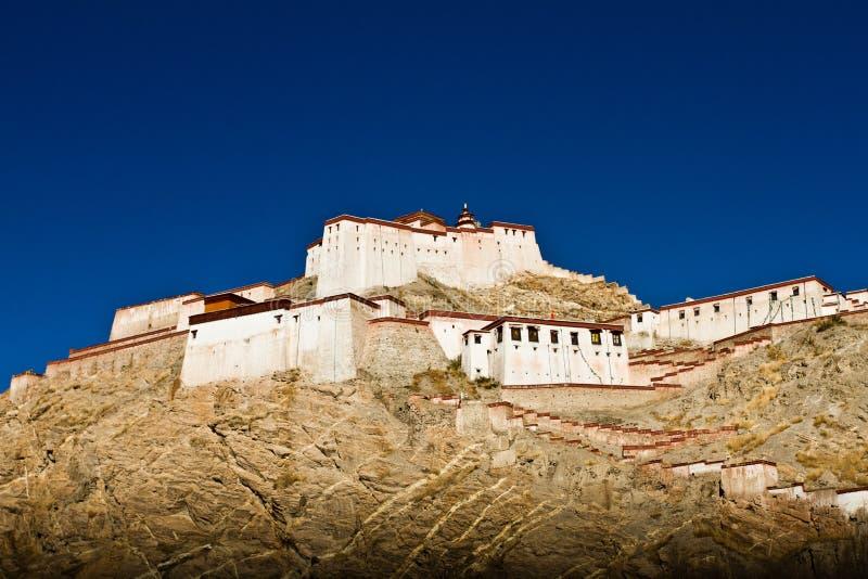Den Palkhor kloster Gyantse Tibet arkivbilder