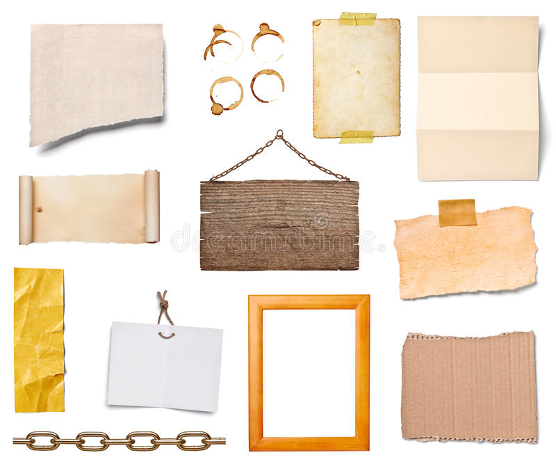 Pappers- Grunge royaltyfria foton