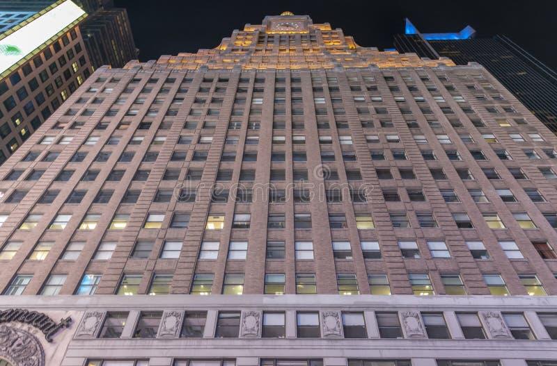 Den Paramount byggnaden royaltyfri bild