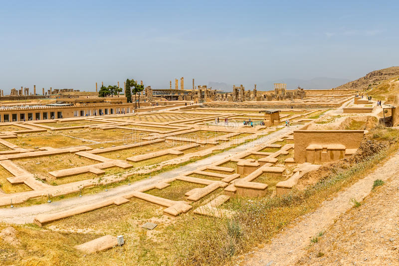 Den Persepolis staden fördärvar royaltyfria bilder