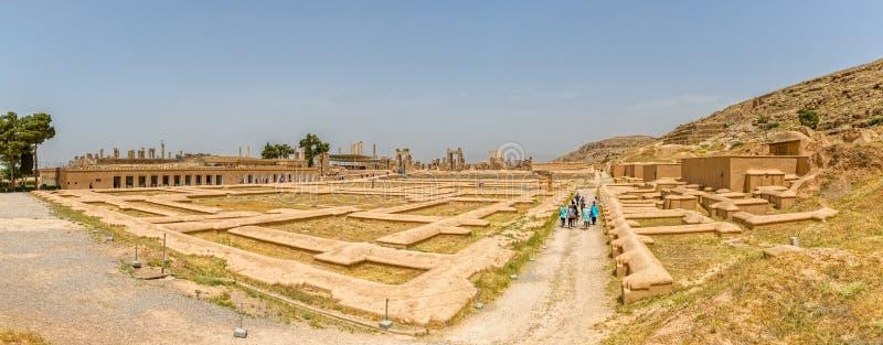 Den Persepolis staden fördärvar royaltyfria foton