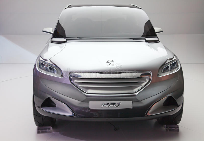 Den Peugeot HR1 blanden arkivbilder