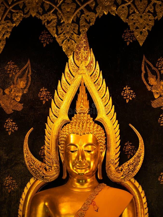 Den Phuttha Chinnarath Buddha är den mest härliga Buddha av Thailand arkivbild