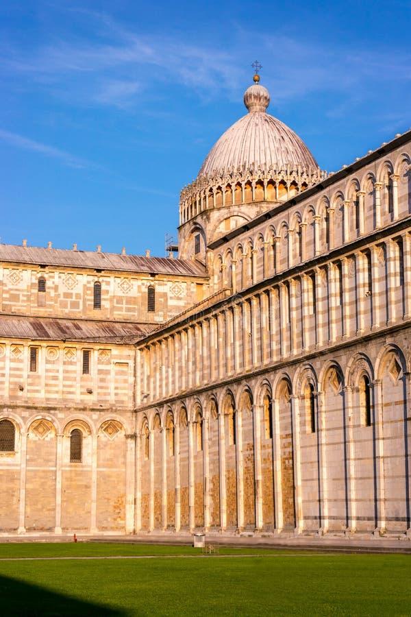 Den Pisa domkyrkan, Italien royaltyfri bild