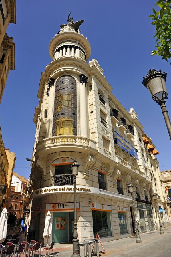 Den PlazaTendillas fyrkanten i Cordoba, Spanien royaltyfria bilder