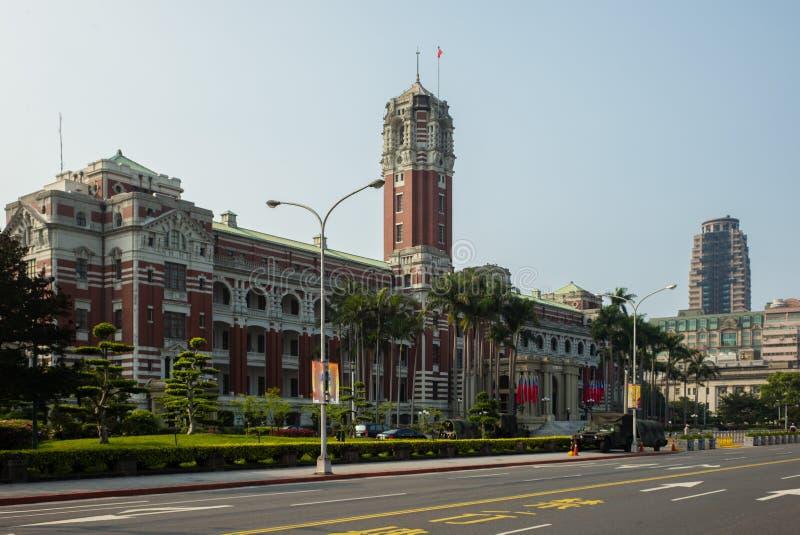 Den presidents- kontorsbyggnaden i Taipei royaltyfria bilder