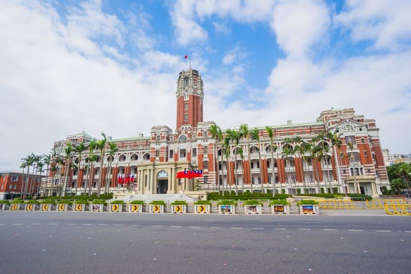 Den presidents- kontorsbyggnaden i Taipei, Taiwan arkivfoton