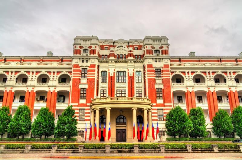 Den presidents- kontorsbyggnaden i Taipei, Taiwan royaltyfria bilder