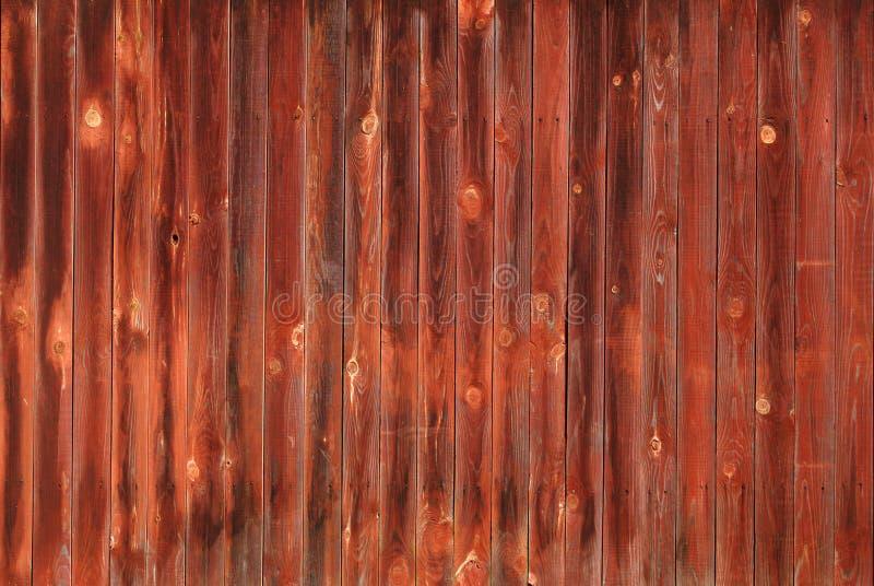 Den rödbruna wood texturen royaltyfri bild