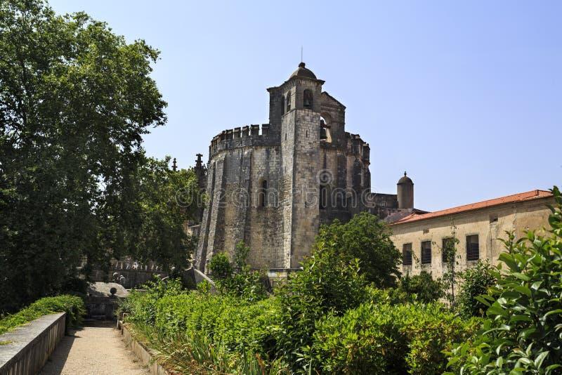 Den romanska kyrkan av Coventen av Kristus arkivbilder