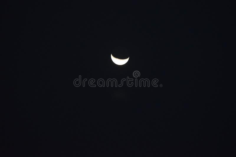 Den romantiska månen arkivbilder