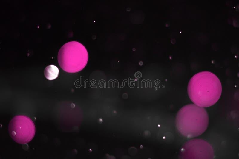 Den rosa enorma klubban gristrar bokeh för att texturera - gullig abstrakt fotobakgrund fotografering för bildbyråer