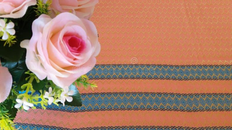 Den Rosa hybridadrottningen av blomman steg royaltyfri fotografi