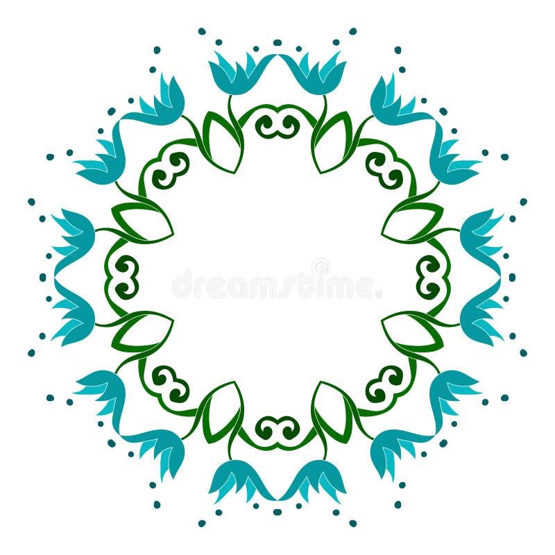 Den runda modellen är symmetrisk också vektor för coreldrawillustration vektor illustrationer