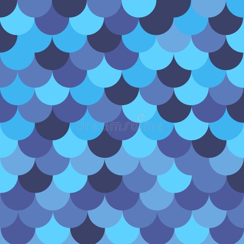 Den sömlösa modellen med blått kritiserar Det kan vara nödvändigt för kapacitet av designarbete royaltyfri illustrationer